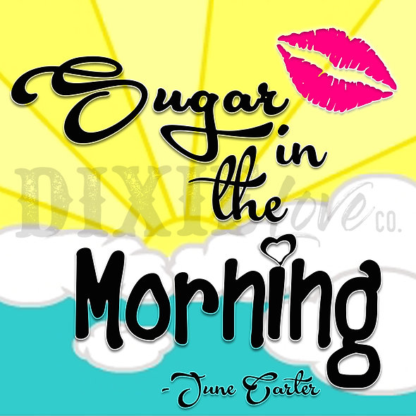 Sugar in Morning 3x3 Printable