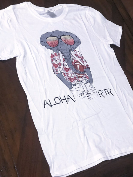 Aloha RTR (White - adult shirt)
