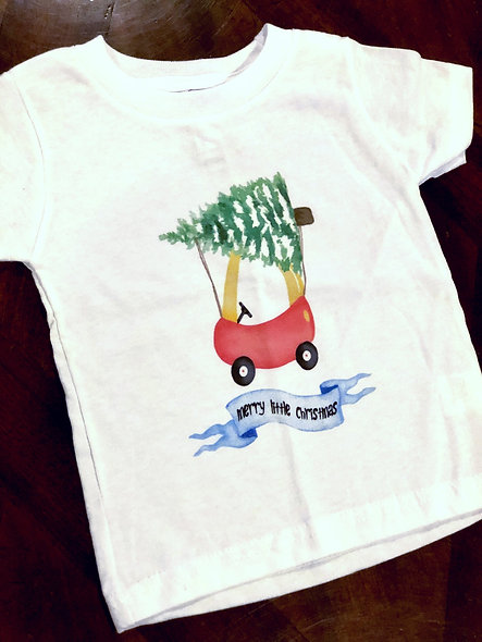 Merry Little Christmas (toddler shirt)