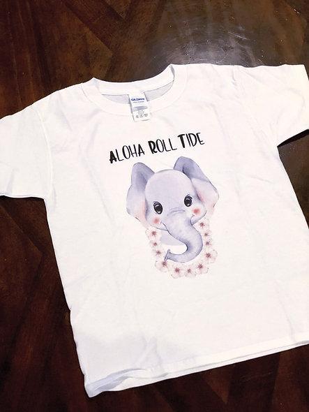 Aloha Roll Tide (boy shirt or unisex)
