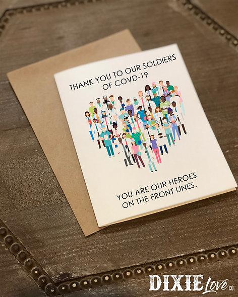 Healthcare Heroes Card