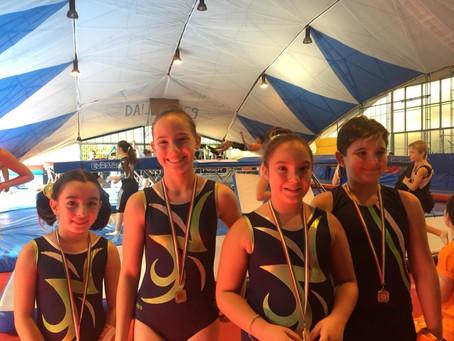 Trampolino elastico: prima prova del campionato Gold!
