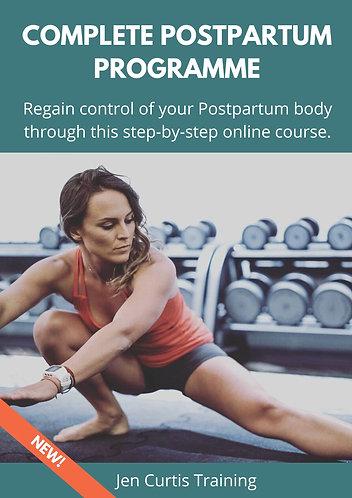 Complete Postpartum Programme