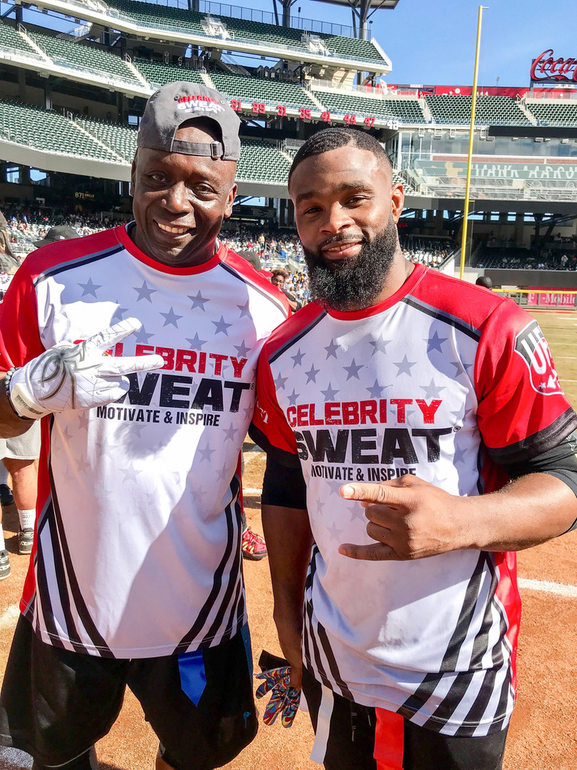 Billy Blanks and Tyron Woodley