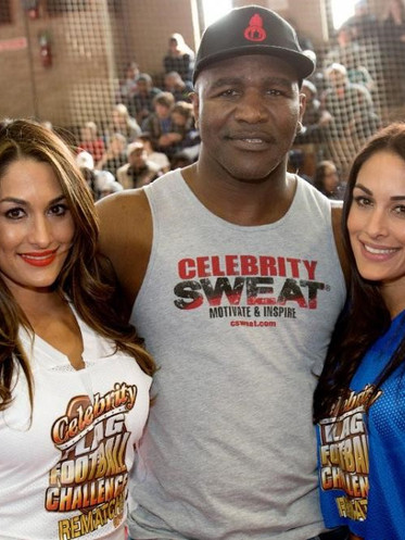 Evander Holyfiend and the Bella twins