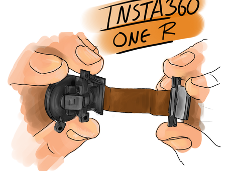 'Naked' Insta360 One R: Tear down