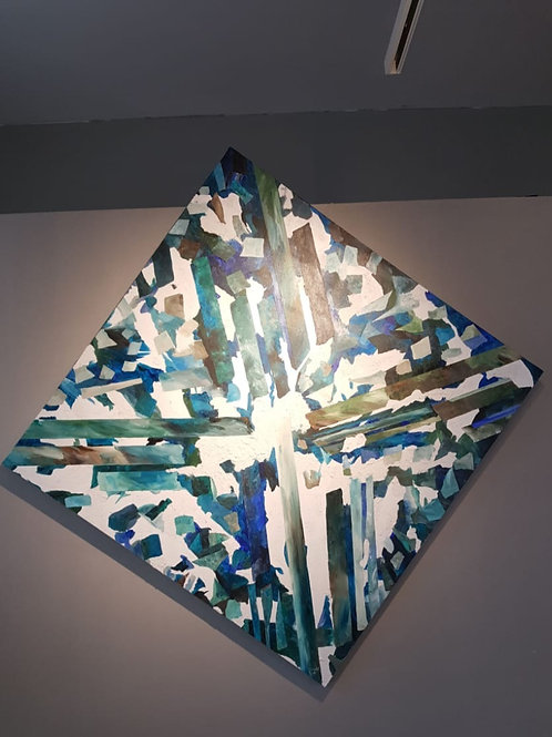 Acrilic painting by Amnon Michaeli