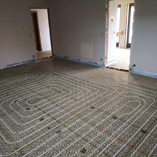 Vloerverwarming renovatie ClimaComfort Compactsysteem
