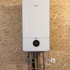 Plaatsing condenserende gasketel Bosch
