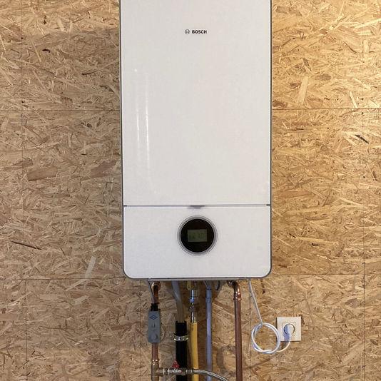 Plaatsing condenserende gasketel Bosch te Erpe-Mere
