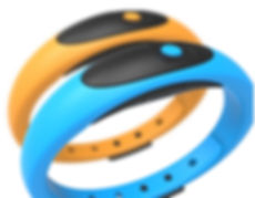 Sports data logger wristband for USA market