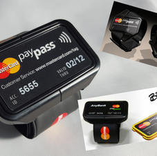 Mastercard Brit Awards contactless payment wristband