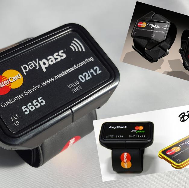 Mastercard Brit Awards contactless payment wristband