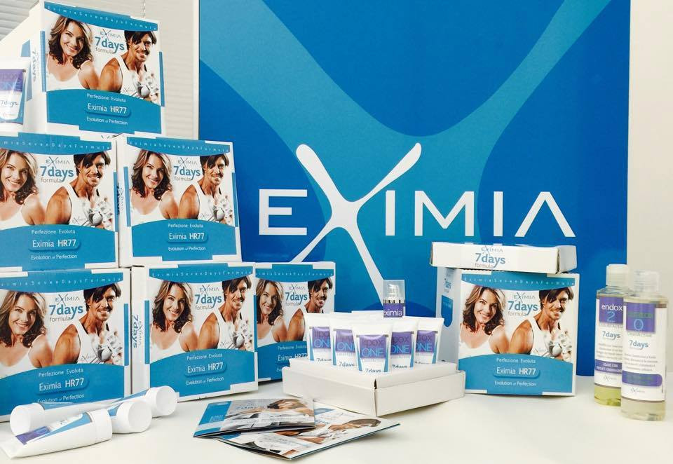 7 days program includes 4 Eximia treatments, dietplan, nutritians, special creams, and a work out program