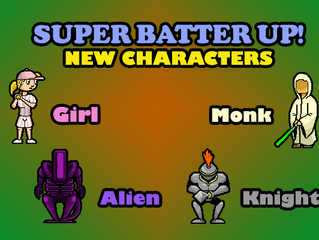 Super Batter Up! Update (Screenshots)