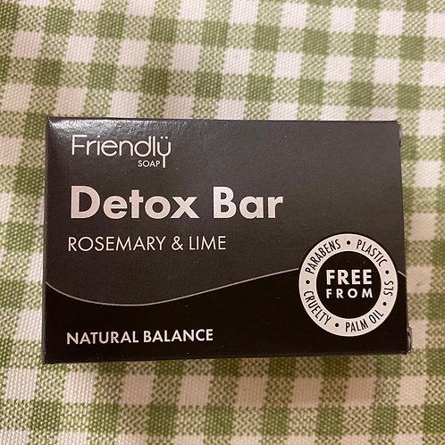 Detox bar rosemary & lime