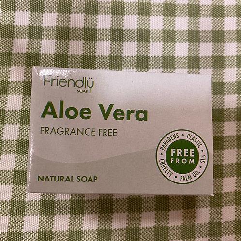 Aloe Vera fragrance free soap