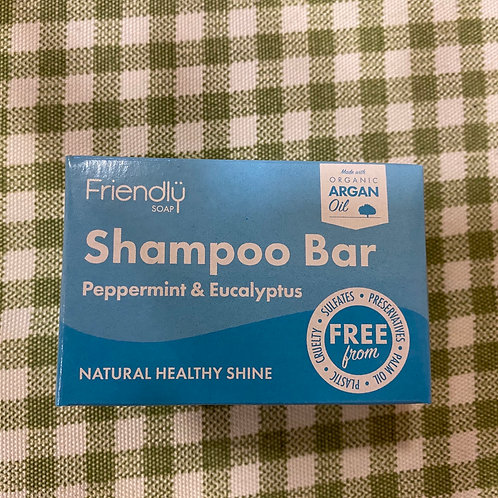 Peppermint & eucalyptus shampoo