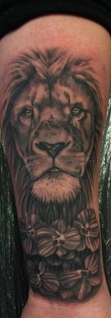 Realistic Lion Portait