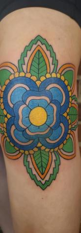 Knee Mandala