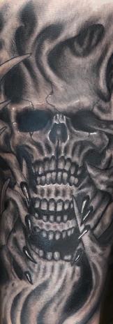 Bio-Organic Skull