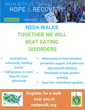 NEDA Walk Flyer