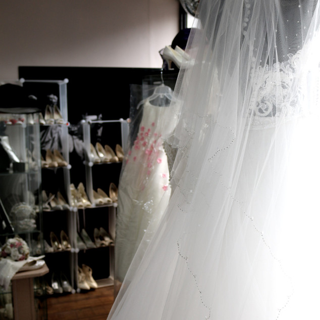 Bridal Veils at Wedding Dresses of Manchester
