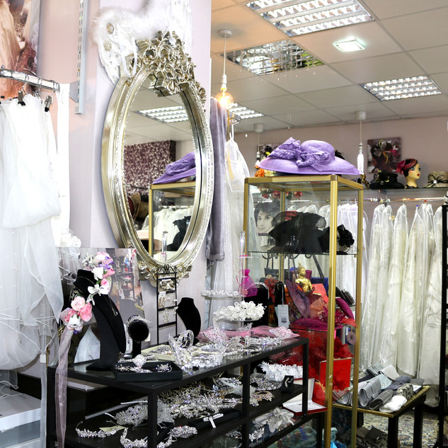 Our boutique at Wedding Dresses of Manchester