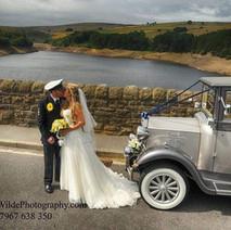 beautiful bride on her wedding day