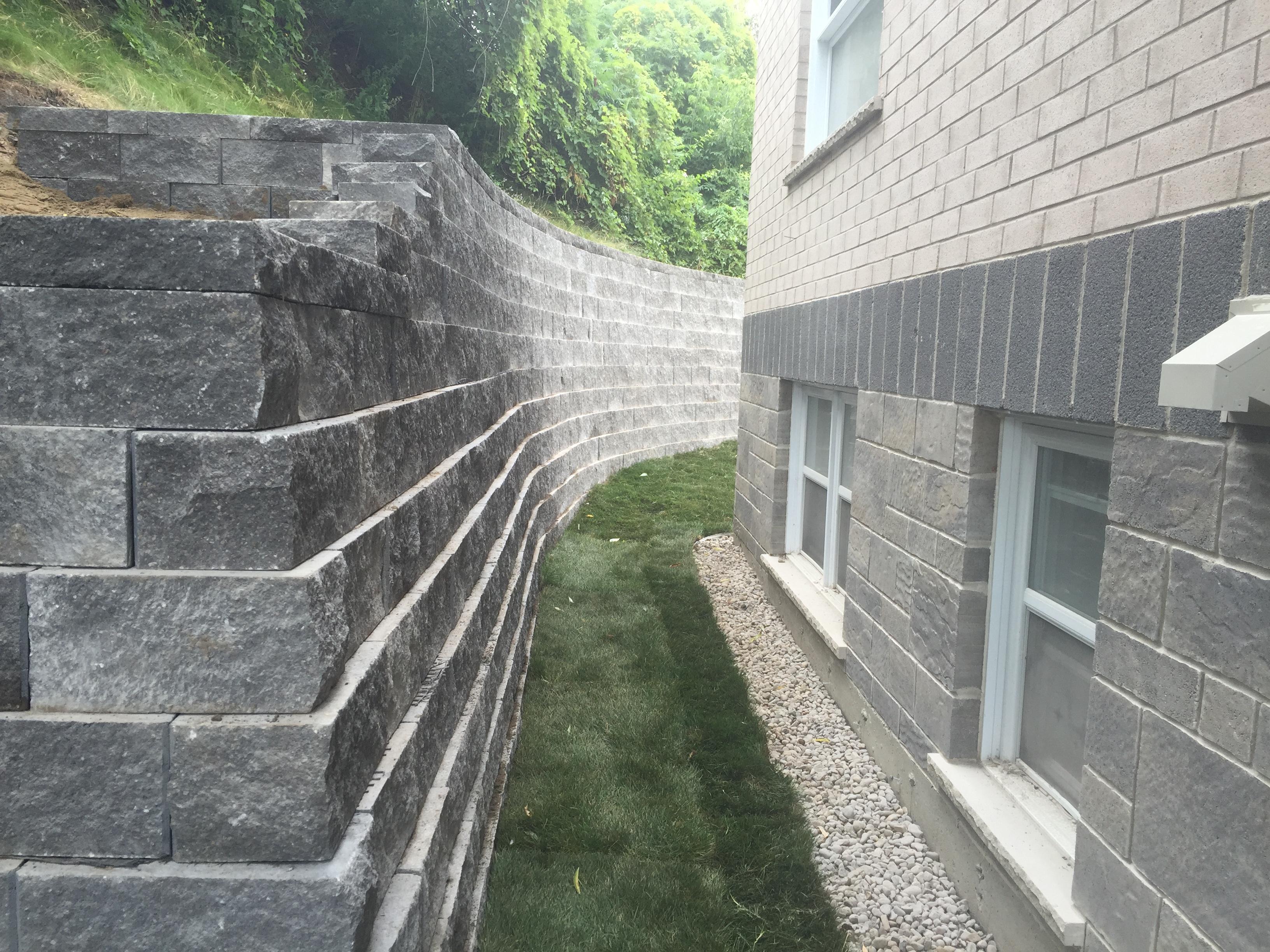 Mur de souteinement