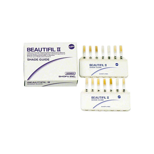 Beautifil II Shade Guide
