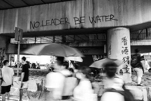 No Leader Be Water