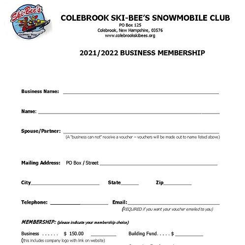2020/2021 Business Membership