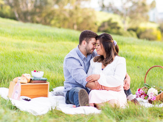 CUTE COUPLE ENGAGEMENT SESSION // BEDWELL BAYFRONT PARK, MENLO PARK