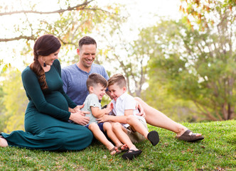 SUMMER MATERNITY SESSION // BAYLANDS PARK, SUNNYVALE