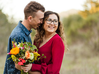 GABY & DYLAN ENGAGEMENT PHOTOSHOOT | Henry Cowell Redwoods State Park, Felton