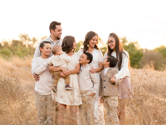 FALL FAMILY SESSION | Coyote Creek Trail, Morgan Hill