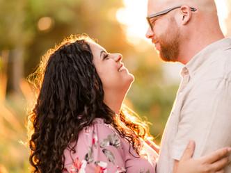 GOLDEN HOUR COUPLE SUMMER SESSION // Elizabeth Gamble Garden, Palo Alto
