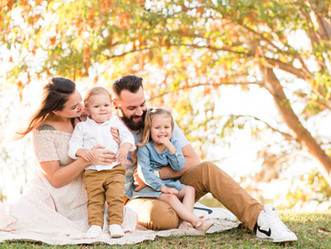 GOLDEN HOUR FAMILY SESSION | Baylands Park, Sunnyvale