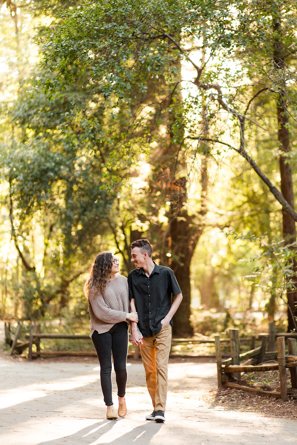 FOREST ENGAGEMENT COUPLE HENRY COWELL