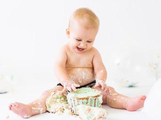 ANDREAS CAKE SMASH // SAN JOSE