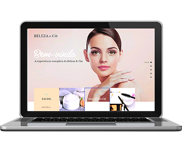modelos de sites First Page 2 salao de beleza