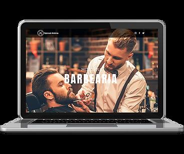 ícones dos modelos de sites First Page 1 barbearia