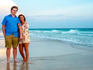 Honey & Anthony   Couples Beach Session