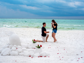 Jim & Savannah   30a Engagement