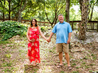 Griffin Family | Maternity Portraits | Oaks by the Bay
