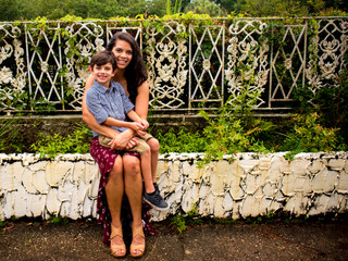 Jackie & Aydan | Mother Son Session | The Garden Club