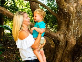 Gavin & Leigh | Mommy & Me | The Zen Garden | PCB, Fl.