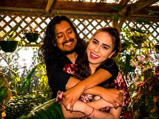 Maria & Elliot | Greenhouse Session | Panama City, Fl.