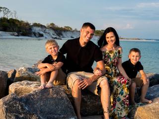 Cooper Family Portraits | St. Andrew's State Park | PCB, FL.